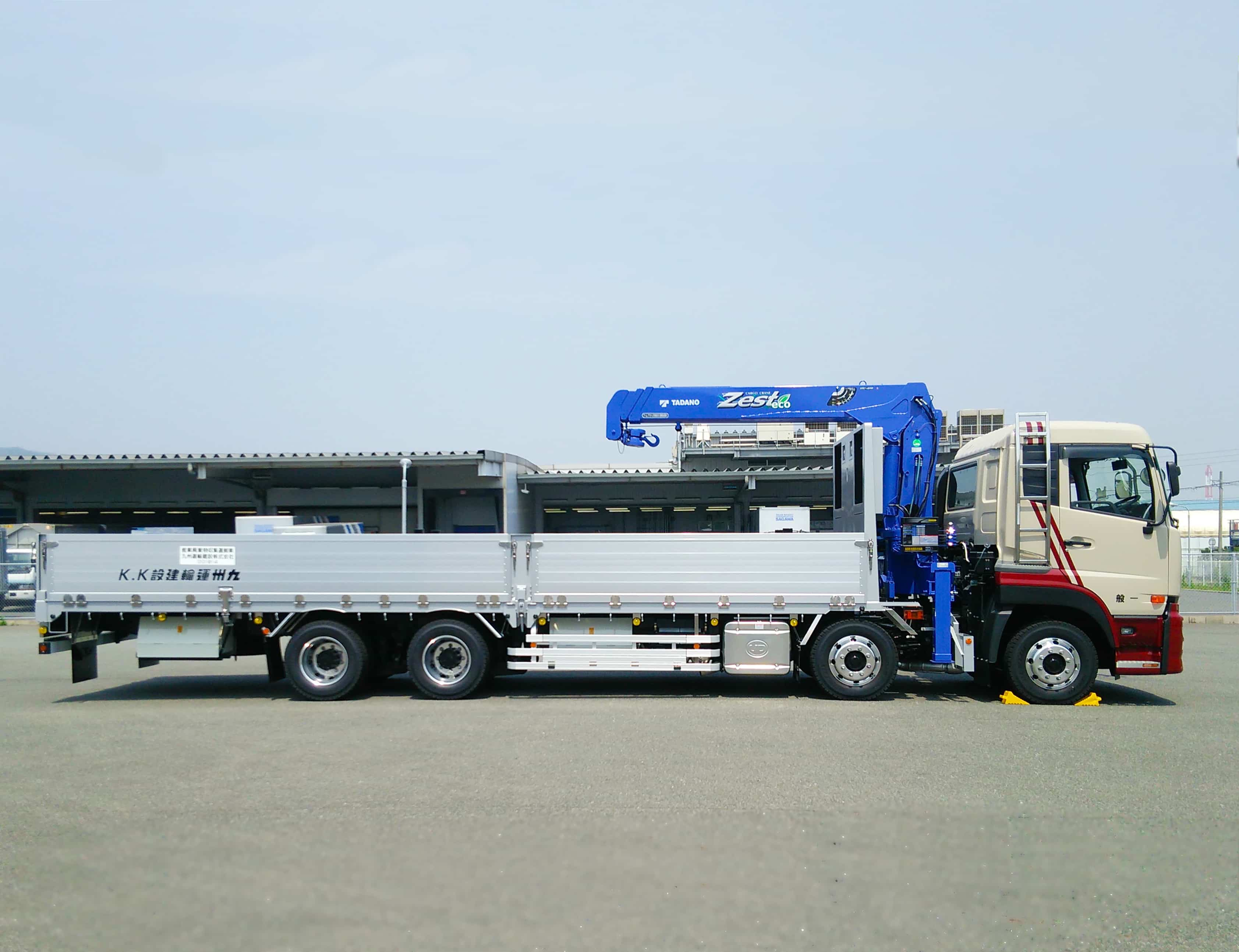 10tクレーン|産業廃棄物収集運搬|九州運輸建設株式会社|北九州市